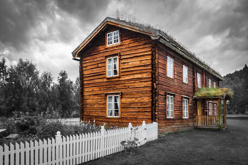 Altes Haupthaus eines Bauernhofs
