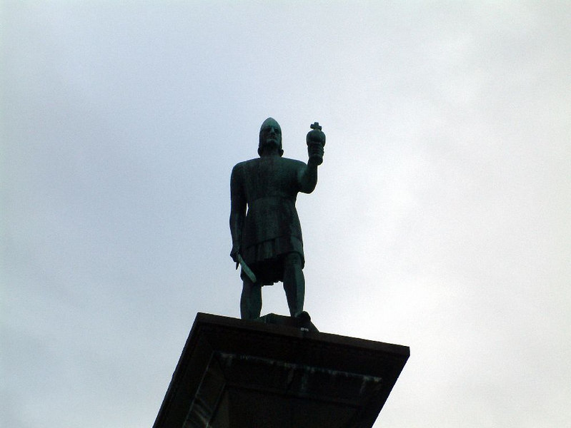 Viking king Olav Tryggvason - founder of Trondheim