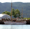 Sailing vessel Willie Wilhelmsen which operates charter sailings in the fjords around Trondheim