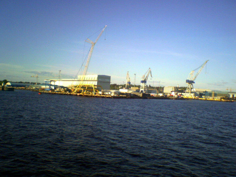 Shipyard at Stavanger