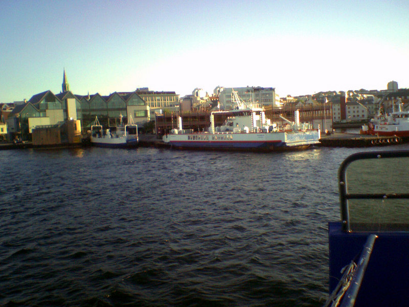 Ferries at the Harbour in Stavanger