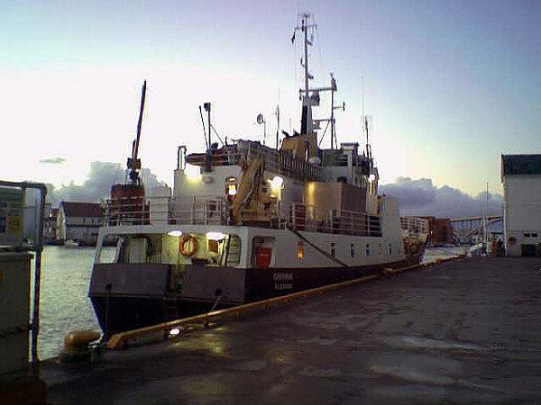 Motor vessel Grimma at Haugesund, Nov 2005