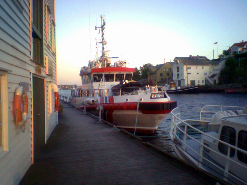 Lifeboat at Haugesund