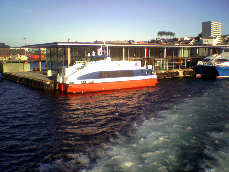 Another fast ferry at Stavanger, June 2006