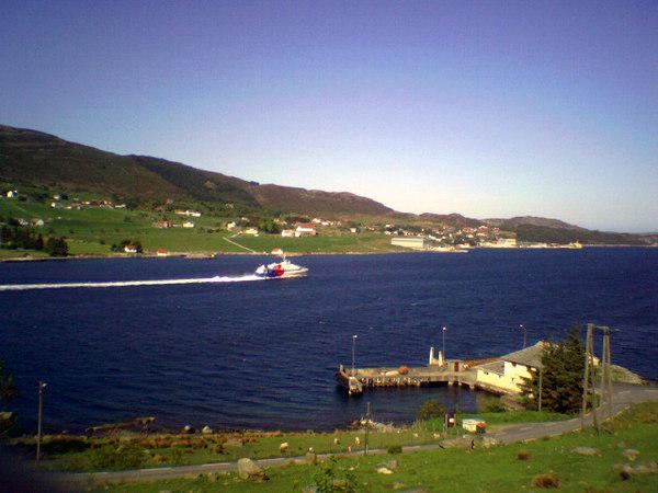 Fast Catamaran in Ognasund