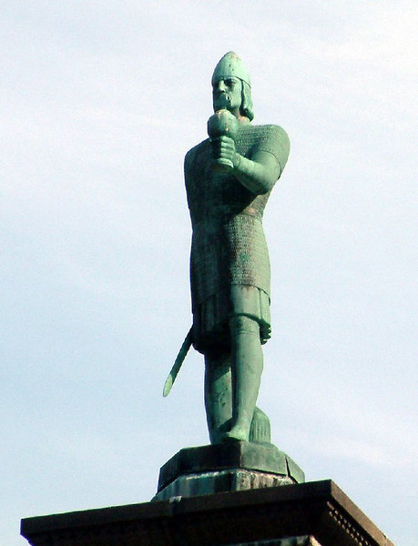 Viking king Olav Tryggvason - founder of Trondheim