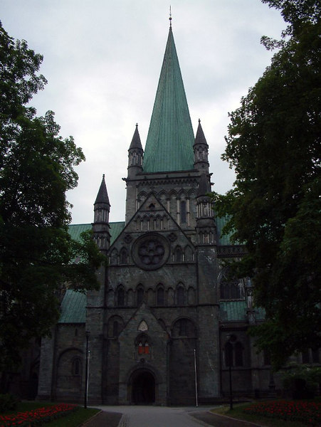 The Nidaros Cathedral, Trondheim