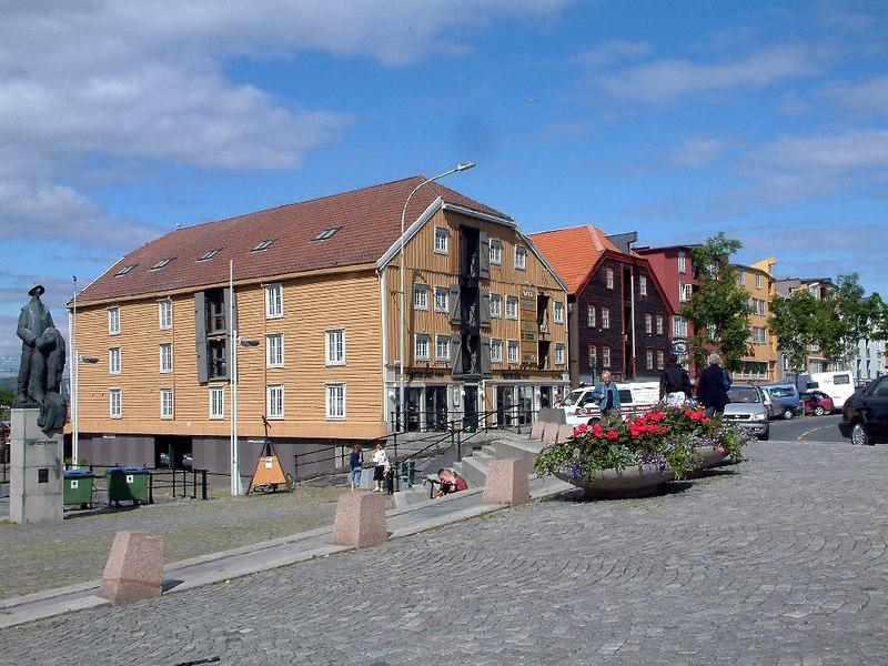 Former maritime buildings at Trondheim
