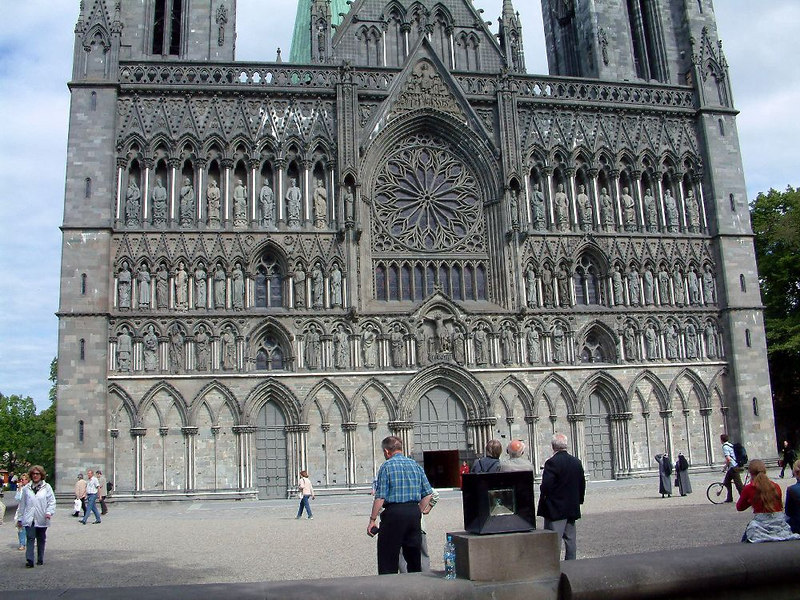 "The Nidaros Cathedral, Trondheim, June 2006<br /> <br />  <a href=""http://www.vad1.com/photo/stock/n9-24.html"">http://www.vad1.com/photo/stock/n9-24.html</a><br /> <br />  <a href=""http://www.idi.ntnu.no/~roger/trheim/page1/Domen_1.jpg"">http://www.idi.ntnu.no/~roger/trheim/page1/Domen_1.jpg</a>"