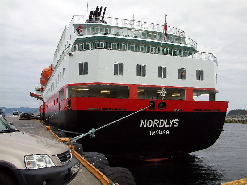 Motor vessel Nordlys, being a TFDS vessel, is registered in Tromso