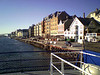 Leaving Haugesund on motor vessel Tjelden