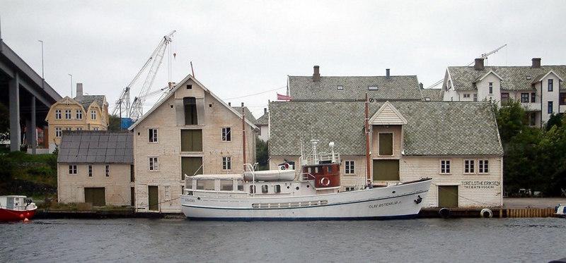 Motor vessel Olav Ostens at Haugesund, Sept 2005