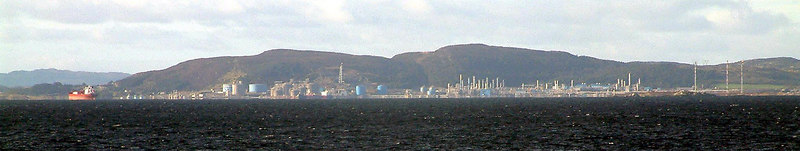 Karsto gas processing terminal, one of the largest in the world and reason for my multiple visits to Norway in 2005-06