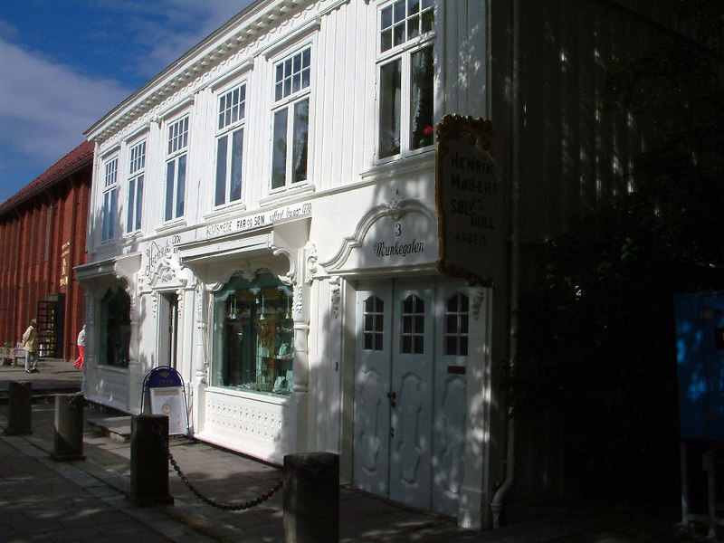 Gift shop at Trondheim