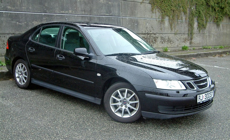 Saab 93 used during first visit to travel by road, bridge tunnel and ferry from Stavanger to Haugesund, Sept 2005