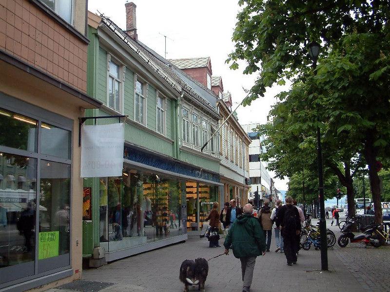 Trondheim city scenes