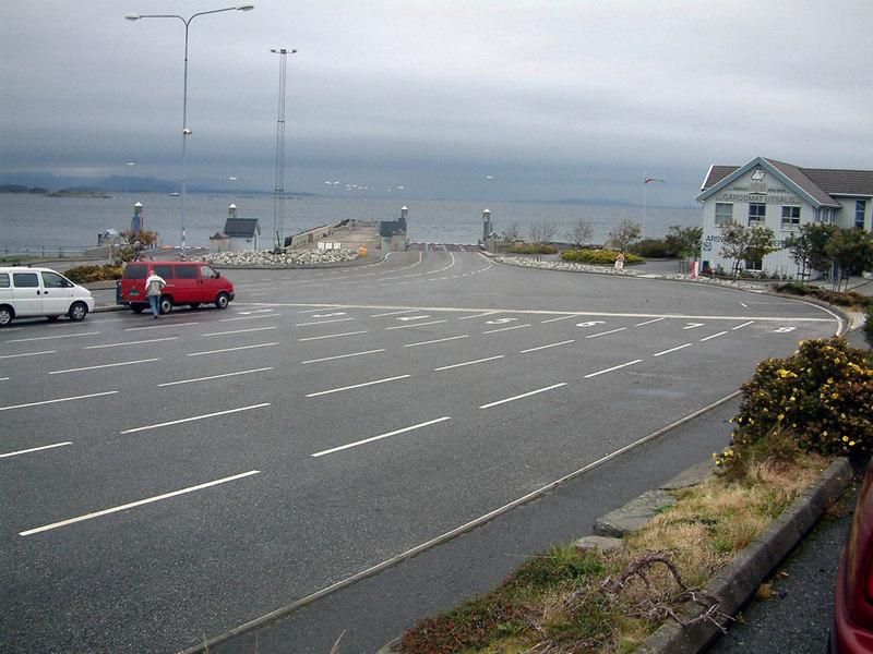 Arsvagen ferry terminal, Sept 2005