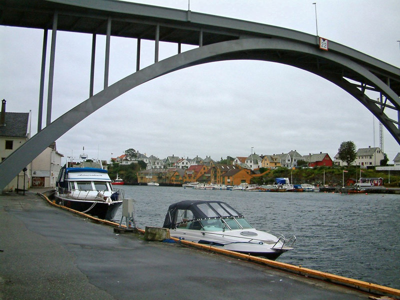 Resoy Bridge, Haugesund, Sept 2005