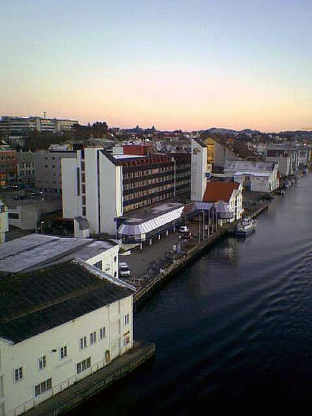 Rica Maritim Hotel, Haugesund from Resoy Bridge