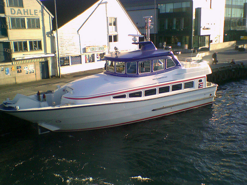 Fast passenger ferry at Stavanger