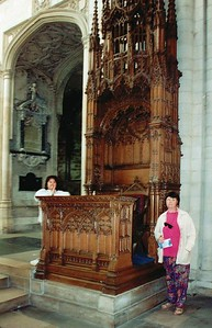 The pulpit Norwich cathedral Norwich England - Jun 1996