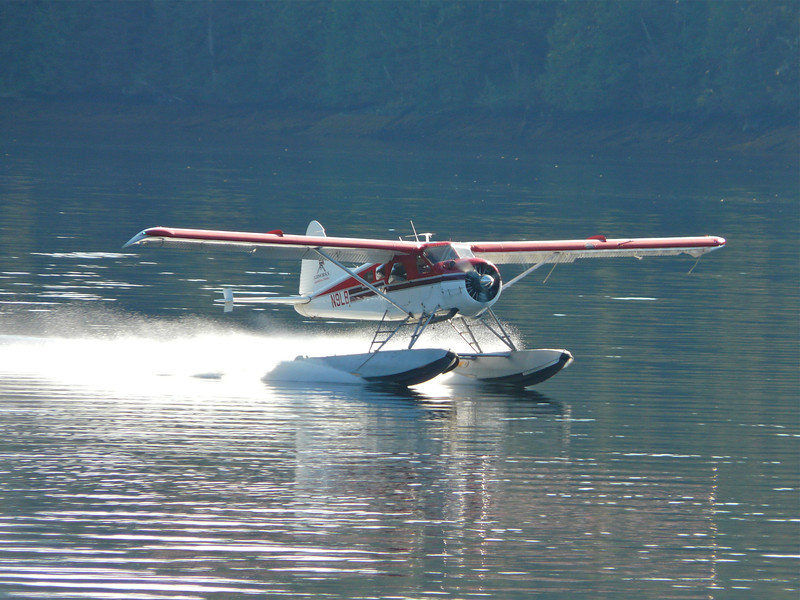 Saturday's scene: floatplane adventure