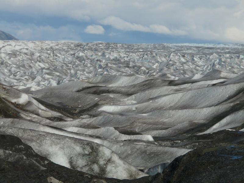 Baird Glacier in southeastern Alaska