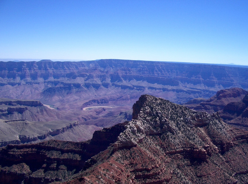Walhalla Overlook on the North Rim of the Grand Canyon