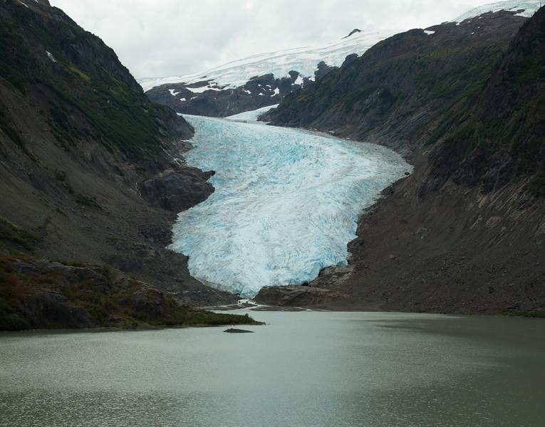 Glacier watching near Stewart, British Columbia
