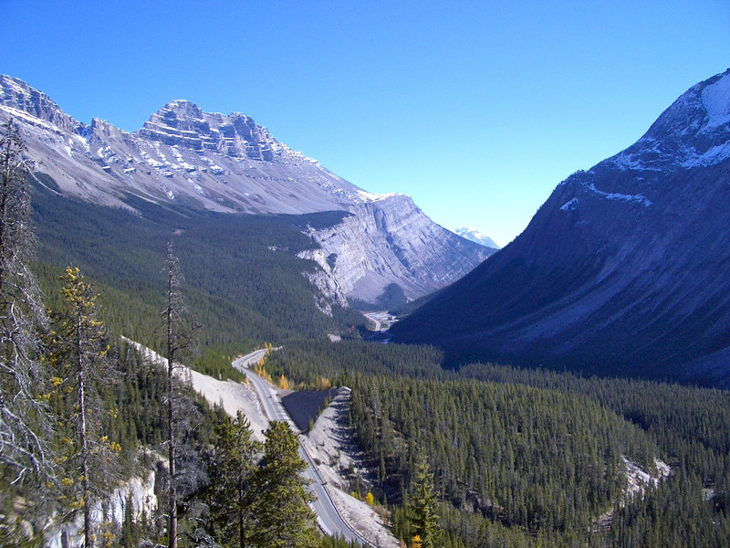 Saturday's scene: exploring Canada's Icefields Parkway