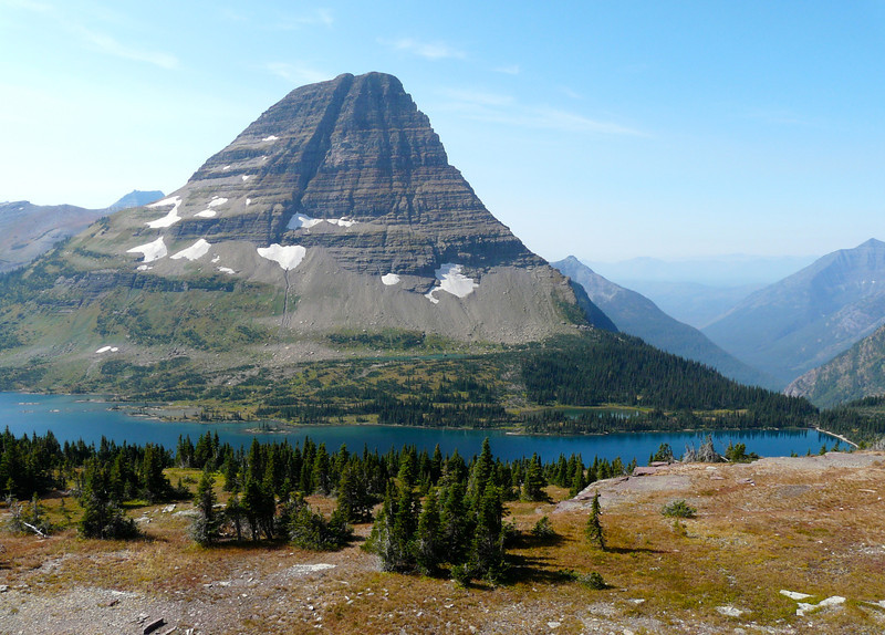 The trail to Hidden Lake Overlook is one of the most popular Glacier National Park hikes.