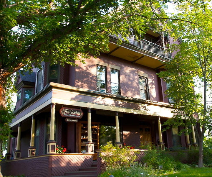The Sanders Bed and Breakfast in Helena, MT.