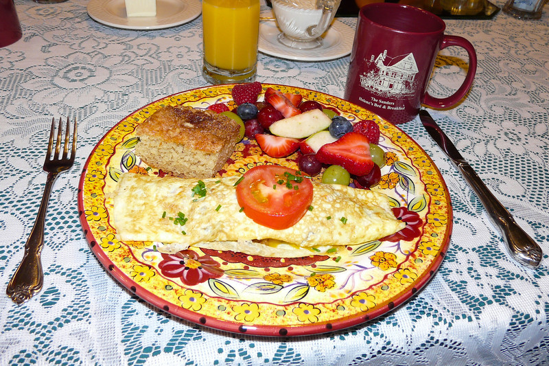 You'll enjoy a gourmet breakfast at The Sanders in Helena, MT.