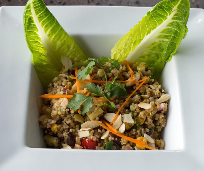 Cous Cous salad at Extraordinary Organics in Nanaimo