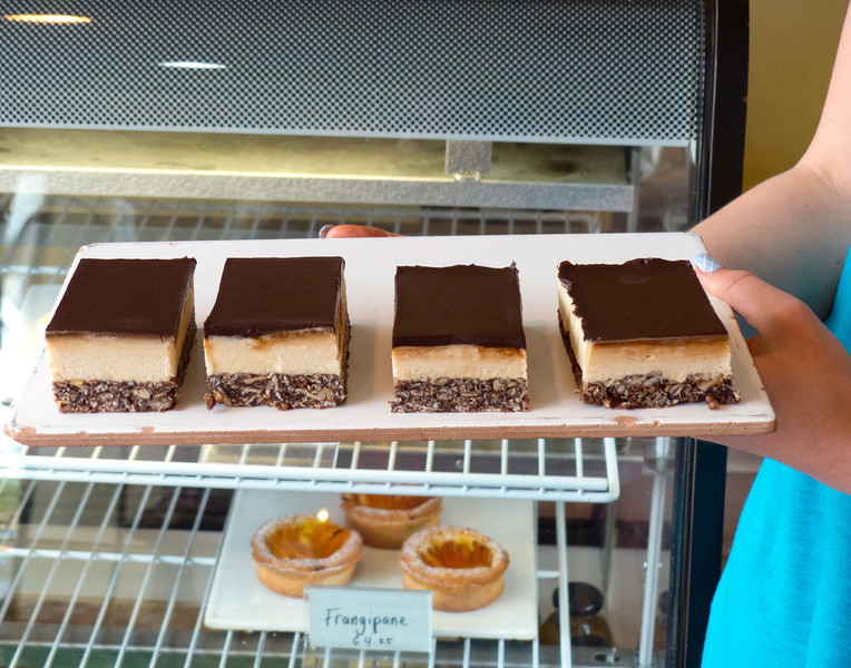 Gluten free Nanaimo Bars from Mon Petite Choux