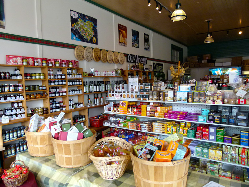 International food items at McLean's Specialty Foods in Nanaimo, B.C.