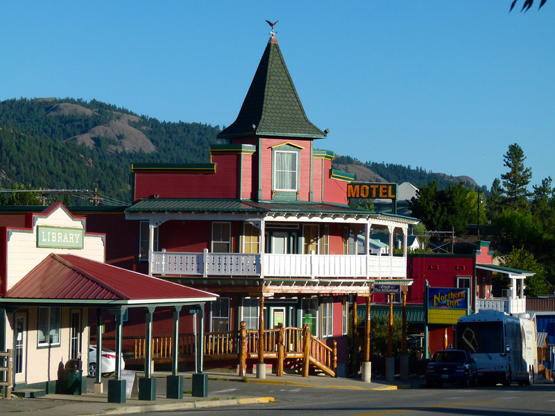 Northern Hotel in Republic, Washington