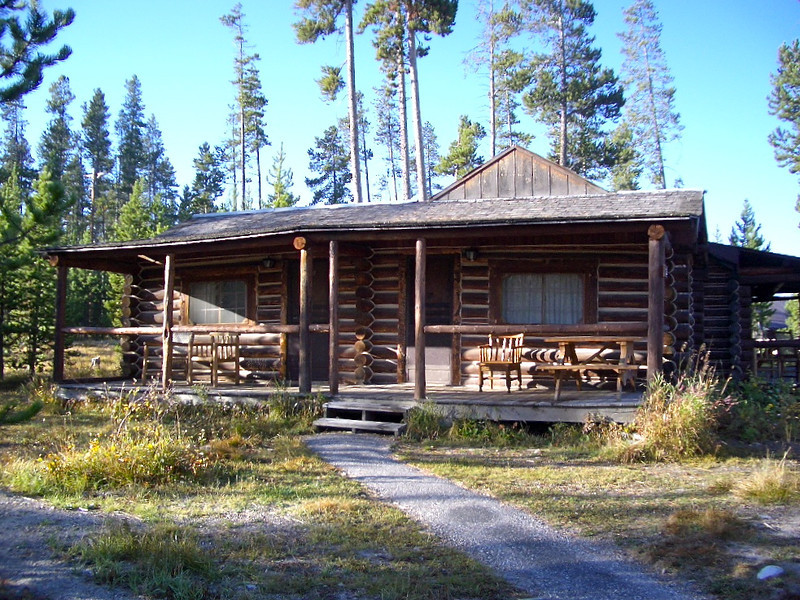 On a fall trip to Grand Teton National Park, stay in a cabin at Signal Mountain Lodge.