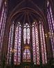 The Sainte-Chapelle Cathedral with its beautiful stained glass and important relic.  This altar contains the Crown of Thorns - worn by Jesus during his crucifixtion.