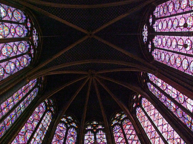 Saint-Chappelle was built specifically to contain the Crown of Thorns.