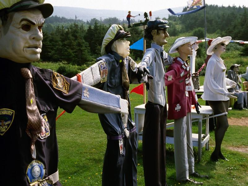 Joes Scare Crow Village, Cap Le Moine, Nova Scotia, 8/04