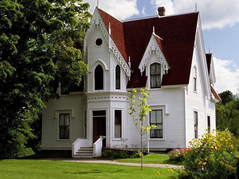 House, Sherbrooke Village, Nova Scotia, 8/04