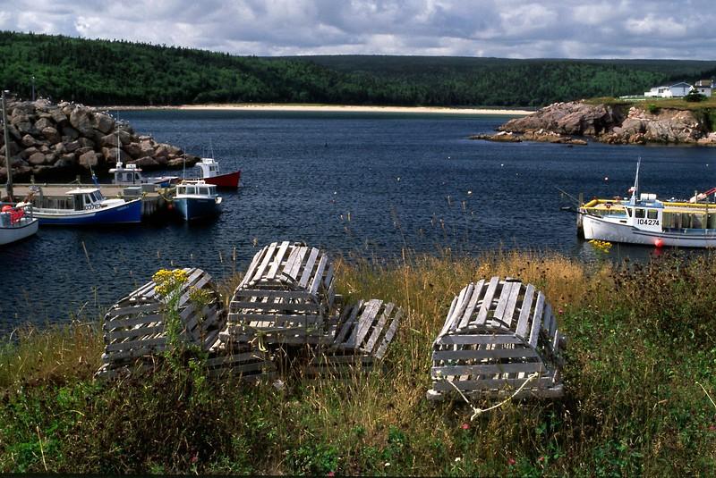 Neils Harbour, Cape Breton Island, Nova Scotia, 8/04