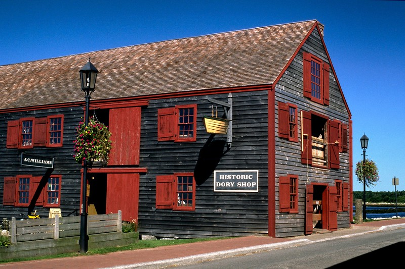 Dory Shop Museum - Shelburne, Nova Scotia, 8/04
