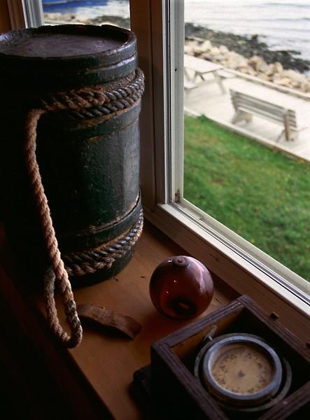 Acadian Museum, Cheticamp, Nova Scotia, 8/04