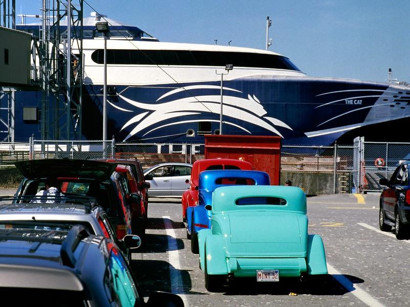 The CAT ferry, Yarmouth, Nova Scotia, 8/04