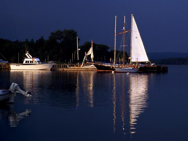 Wharf at Baddeck, Nova Scotia, 8/04