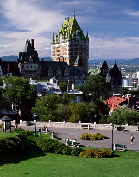 Chateau Frontenac, Quebec City, Quebec, 8/04