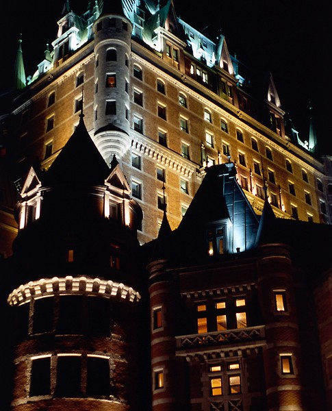 Chateau Frontenac, Quebec City, 8/04