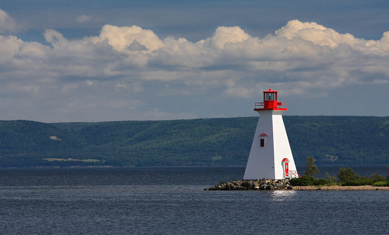 Lighthouse at Beddeck, NS